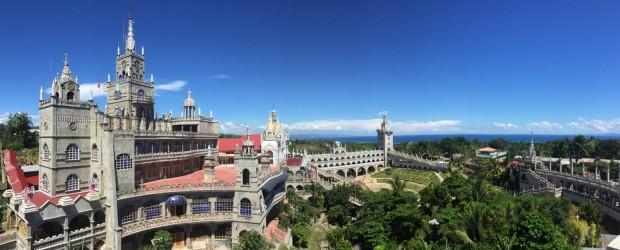 シマラ教会と海