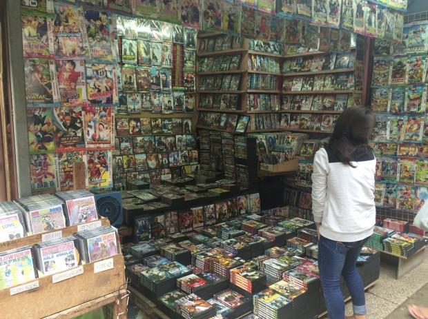 DVD露店2